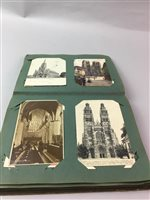 Lot 12-A LOT OF TWO EARLY 20TH CENTURY POSTCARD ALBUMS