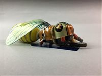 Lot 17-A GERMAN TIN PLATE WASP CLOCKWORK TOY