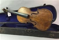 Lot 53-A 19TH CENTURY FRENCH VIOLIN