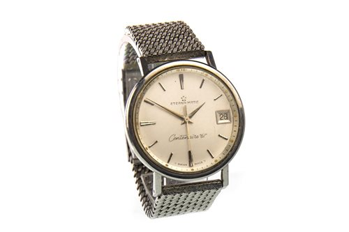 Lot 773 - A GENTLEMAN'S ETERNA-MATIC CENTENAIRE 61 WRIST WATCH