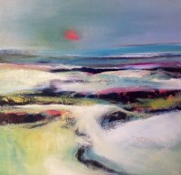 Lot 2539 - MAY BYRNE, EVENING LIGHT oil on canvas, signed...