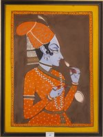 Lot 997-AN INDIAN SCHOOL PAINTING