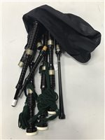Lot 1446-A SET OF HIGHLAND BAGPIPES