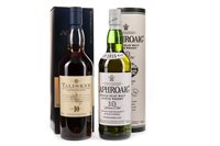 Lot 301-LAPHROAIG 10 YEARS OLD & TALISKER 10 YEARS OLD