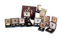Lot 524-A COLLECTION OF SILVER PROOF AND OTHER COINS