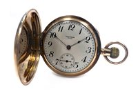 Lot 765-A GOLD POCKET WATCH