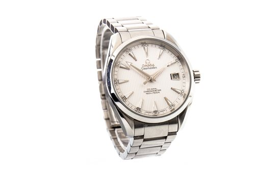 Lot 768-A GENTLEMAN'S OMEGA SEAMASTER STAINLESS STEEL WATCH