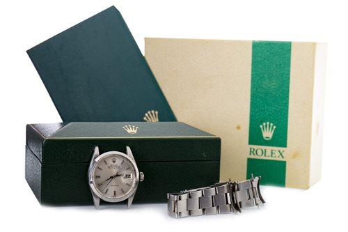 Lot 777-A GENTLEMAN'S ROLEX AIR KING DATE WATCH