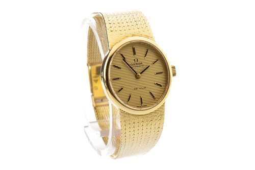 Lot 784-A LADY'S OMEGA GOLD AUTOMATIC WATCH