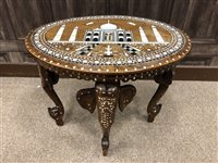 Lot 941-AN EARLY 20TH CENTURY INDIAN TABLE