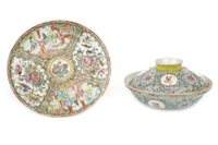 Lot 946-A CHINESE BOWL AND A FAMILLE ROSE PLATE