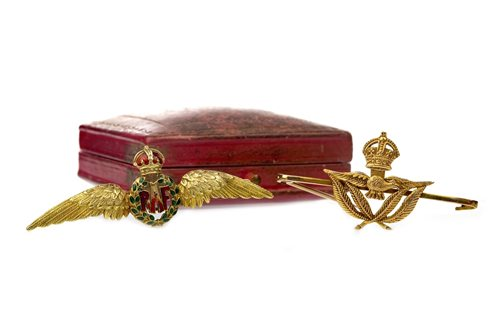Lot 44-TWO RAF SWEETHEART BROOCHES