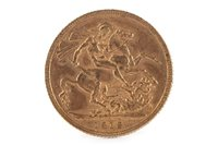 Lot 501-A GOLD SOVEREIGN, 1912