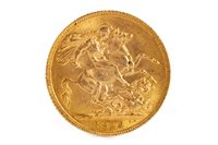 Lot 502-A GOLD SOVEREIGN, 1913