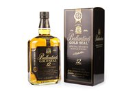 Lot 409-BALANTINE'S GOLD SEAL 12 YEARS OLD - ONE LITRE