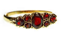 Lot 126-A VICTORIAN STYLE GEM SET RING