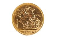 Lot 526-A GOLD SOVEREIGN, 1904