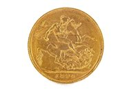 Lot 529-A GOLD SOVEREIGN, 1894