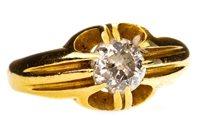 Lot 52-A VICTORIAN STYLE DIAMOND RING