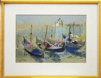 Image for GONDOLAS, A PASTEL BY GEORGE MILLER