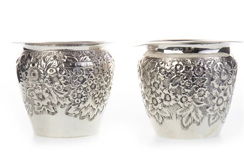 Lot 808-A PAIR OF VICTORIAN SILVER BOWLS