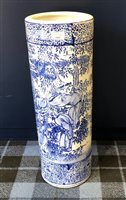 Lot 1005-A LATE 19TH/EARLY 20TH CENTURY CHINESE CERAMIC STICK STAND