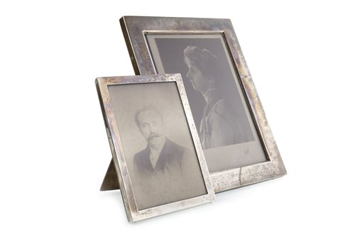 Lot 817-A GEORGE V SILVER FRAME AND ANOTHER
