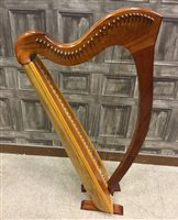 Lot 1407-A SCOTTISH CLARSACH HARP