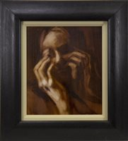 Lot 522-HIDDEN II, AN OIL BY CHERYLENE DYER