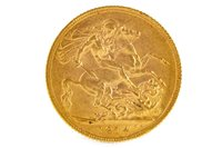 Lot 509-A GOLD SOVEREIGN, 1914