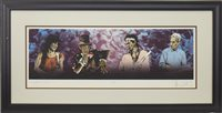 Lot 523-VOODOO FOUR (SERIES III), A SCREENPRINT BY RONNIE WOOD