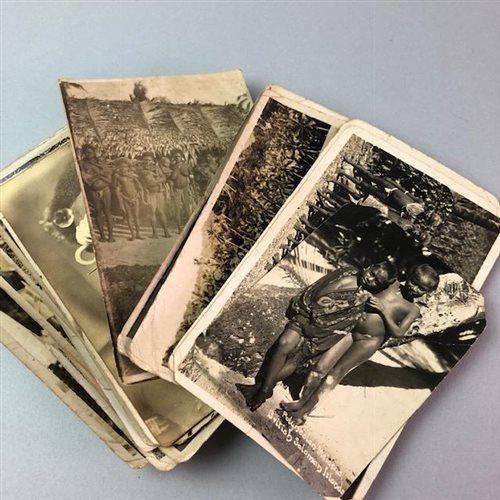 Lot 18-A LOT OF PHOTOGRAPHS FROM THE SOLOMON ISLANDS