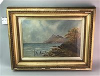 Lot 26-A PAIR OF SCOTTISH PAINTINGS