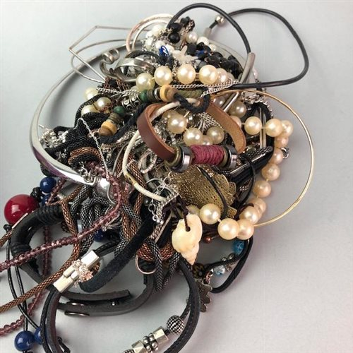 Lot 12-A COLLECTION OF COSTUME JEWELLERY