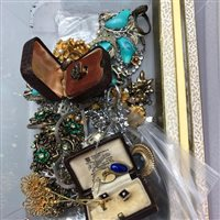 Lot 13-A LOT OF VINTAGE AND MODERN JEWELLERY