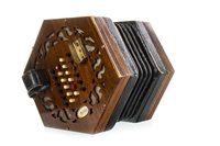 Lot 1409-A WHEATSONE FORTY-EIGHT BUTTON CONCERTINA