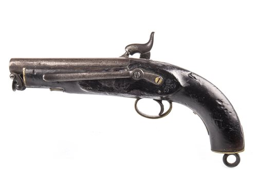 Lot 821-A VICTORIAN PERCUSSION PISTOL