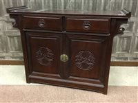 Lot 1026-A 20TH CENTURY CHINESE SIDEBOARD
