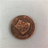 Lot 48-A LOT OF MASONIC TOKENS