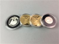 Lot 50-A LOT OF FOUR SILVER PROOF COINS