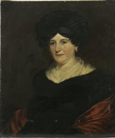 Lot 447-PORTRAIT OF A LADY