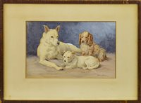 Lot 617-BRUMAS, PICKLE AND PETER, A WATERCOLOUR BY J MURRAY THOMSON