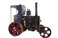 Lot 845-A LIVE STEAM TRACTION ENGINE 'THE FIERY BEAST'