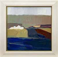 Lot 504-WEATHER, AN OIL BY JOYCE HENRY