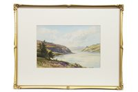 Lot 622-PORTREE BAY, SKYE, A WATERCOLOUR BY GEORGE TREVOR