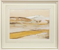 Lot 629-GAIRLOCH FROM SHANDON, A WATERCOLOUR BY W E THOMSON