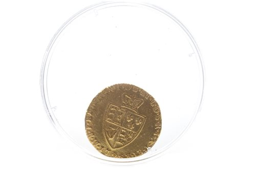 Lot 502-A GOLD HALF GUINEA, 1798