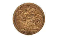 Lot 503 - A GOLD SOVEREIGN, 1909