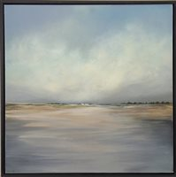 Lot 705-HORIZON, AN OIL BY PHILIP RASKIN