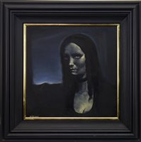 Lot 707-MONA LISA, AN OIL BY FRANK MCFADDEN